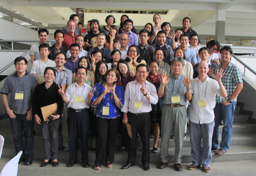 Group Photo of Participants on the 36th Southeast Asian Seminar,Cebuano Studies Center, University of San Carlos 20-23 Nov. 2012