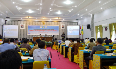 9th Kyoto University Asian Forum held at East Kalimatan