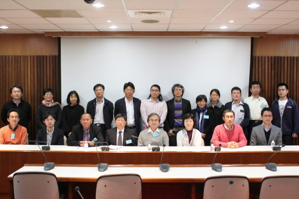 Joint Seminar held at the Center for Asia-Pacific Studies (CAPAS), Academica Sinica, February 2012