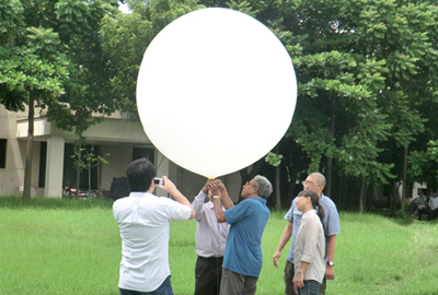 Upper Layer Observation at Bangladesh Meteorological Department in Dhaka in August, 2012