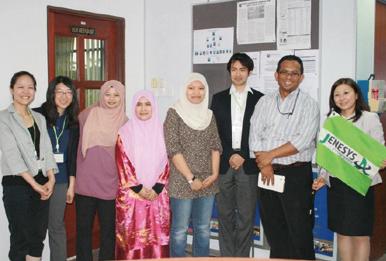 マラヤ大学日本研究プログラム長のザカリア教授を訪問