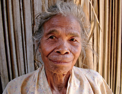"Ines de Jesus is a survivor of the Japanese military sexual slavery system in Timor-Leste. She gave a birth to a child from her relations with a Japanese soldier, but the baby was taken by the Japanese military and she doesn't know what happened to the baby. She never told her husband with whom she married after the war about her experience as a ""comfort woman."""