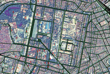 GIS archive data of Hanoi