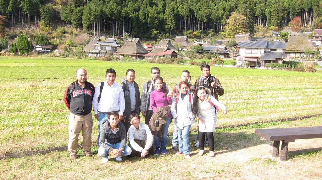 美山町へのフィールドリップ