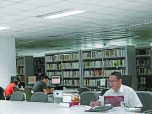 Institute of Social Sciences and Information, Library (Vietnam, Hanoi)
