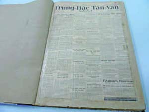 """Trung Bac Tan Van""—Daily Newspaper published in Hanoi—"