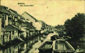植民地期のピントゥ・クチール 出典:Batavia. Kali Pintoe Ketjil Digital Image Library, KITLV Universiteit Leiden (http://media-kitlv.nl/image/6f07fce1-59f4-b6c6-2f8f-8838108ae309)