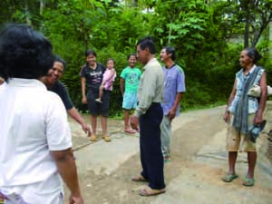 Villagers to speak with the elderly