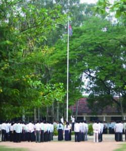 カンボジアの中学校教員養成校