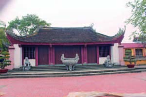 Communal hall of Giới Tế village (Tiên Du district, Bắc Ninh province)