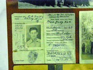 ID Card of Indonesian Chinese that returned from Indonesia to Hainan Island in 1950's