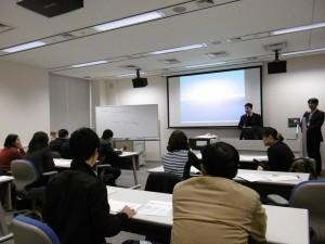 Overviewed Academic information service of National Institute of Informatics. Lectured by Mr. Yoshida Yukinae and Mr. Maeda Akira 2
