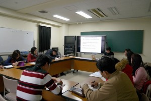Lecture: Scheme for constructing SEAsia Periodical Database (Common building K407 in Center for Southeast Asian Studies, Kyoto University)