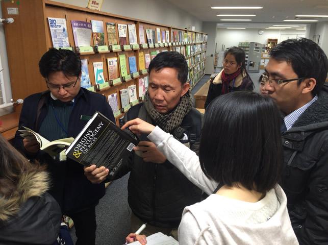 京都大学北部構内図書室の視察1