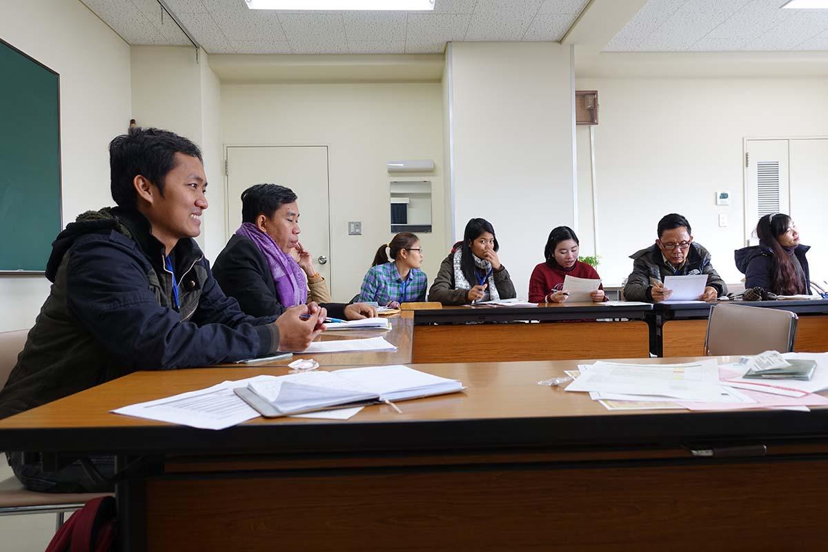 講義 「日本・東南アジアにおける学術情報基盤環境の比較」の様子1