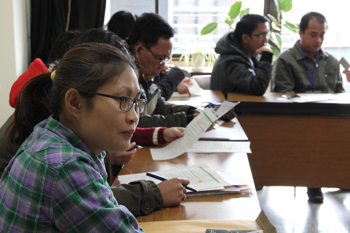 講義 「日本・東南アジアにおける学術情報基盤環境の比較」の様子2