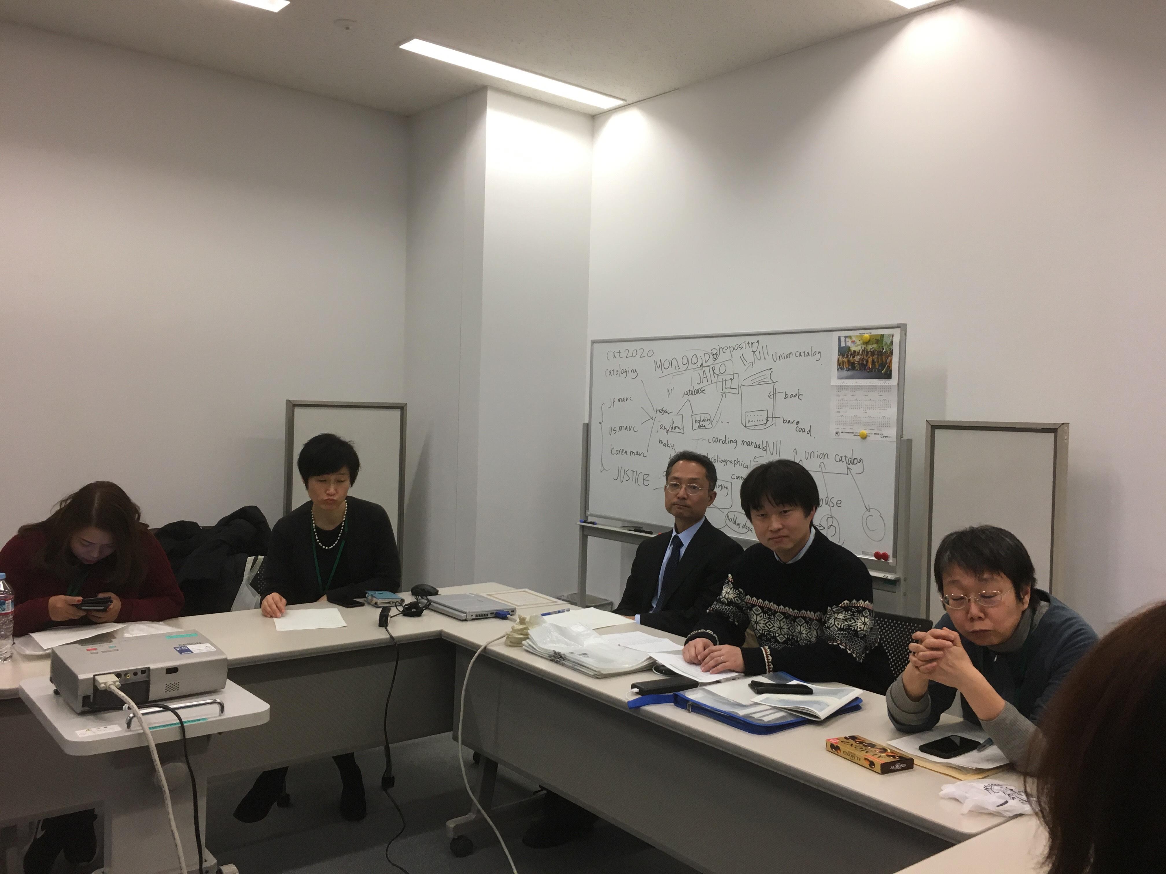 ジェトロ・アジア経済研究所図書館にて成果発表1